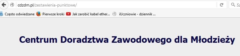 Progi punktacyjne dla poznańskich szkół